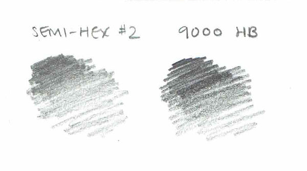 General Writing 9000 HB pencil swatch