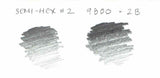 Micro Graphite 9800 Pencil - 2B - CW Pencil Enterprise