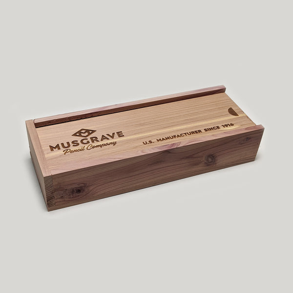 Tennessee Red Cedar Pencil Box - 2 Dozen - CW Pencil Enterprise