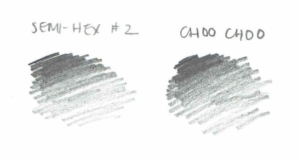 Choo Choo #2 pencil swatch