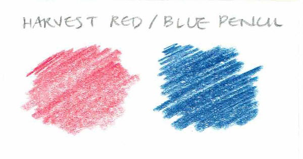 Harvest Red/Blue Pencil - CW Pencil Enterprise