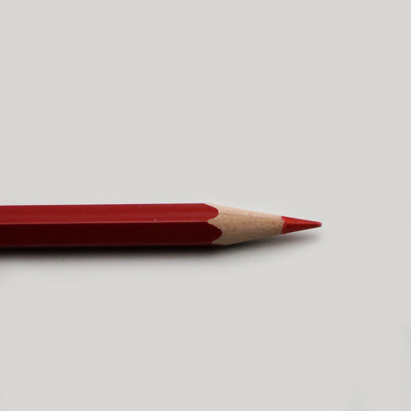 Hermitage Thin Red Pencil - CW Pencil Enterprise