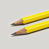 Plastic Sharpener Duo - Yellow - CW Pencil Enterprise