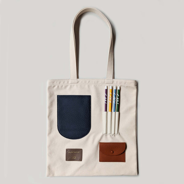 OAD x CWPE Collab Tote Bag - Neutrals - CW Pencil Enterprise