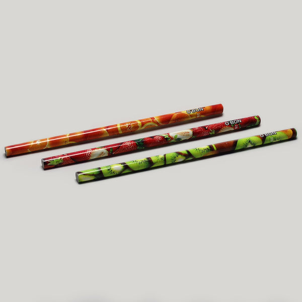 Fruits Recycled Newspaper Pencil - CW Pencil Enterprise