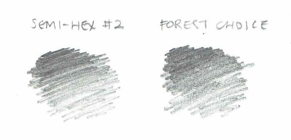 forestchoice #2 pencil swatch