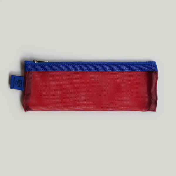 Mesh Pencil Case - Red