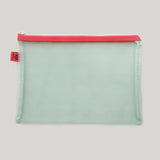 Large Mesh Stationery Pouch - Green
