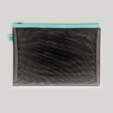 Large Mesh Stationery Pouch - Black