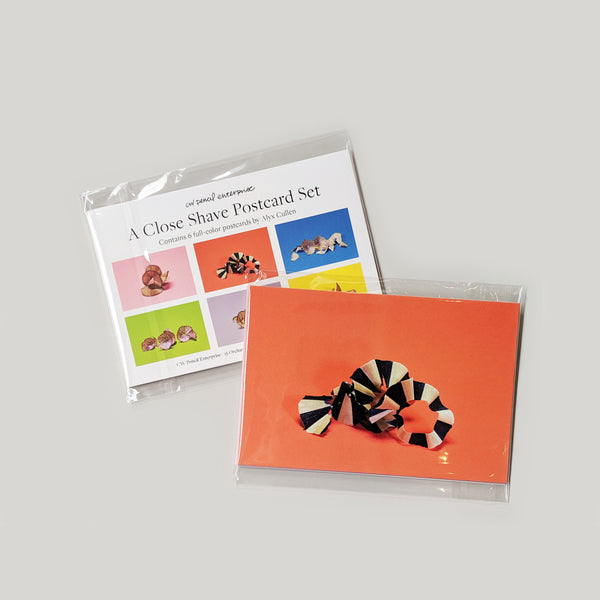 Pencil Shavings Postcard Set - CW Pencil Enterprise