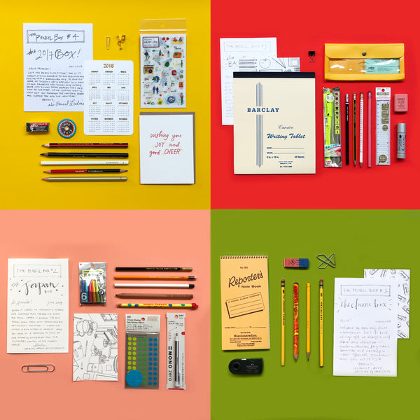 The Pencil Box Quarterly Subscription