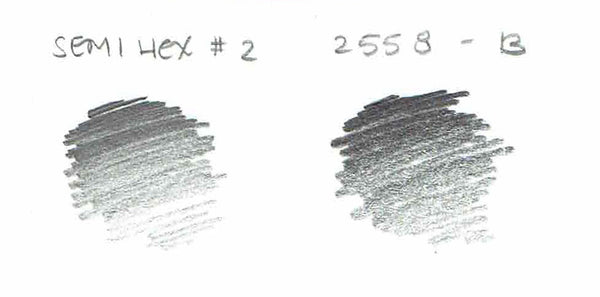General writing 2558 pencil b swatch