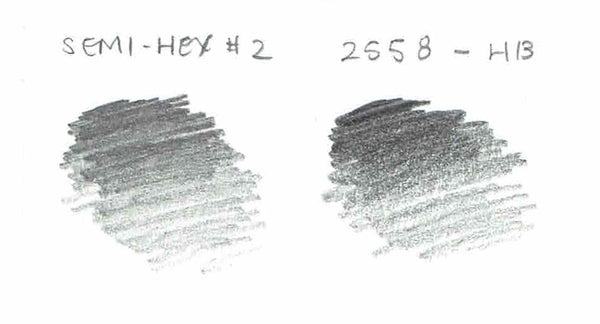 General Writing 2558 HB pencil swatch