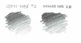 Mono 100 Pencil - 2B - CW Pencil Enterprise