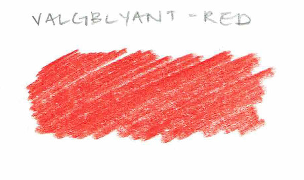Valgblyant Red Jumbo Pencil - CW Pencil Enterprise