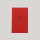 Paper Journal - Red