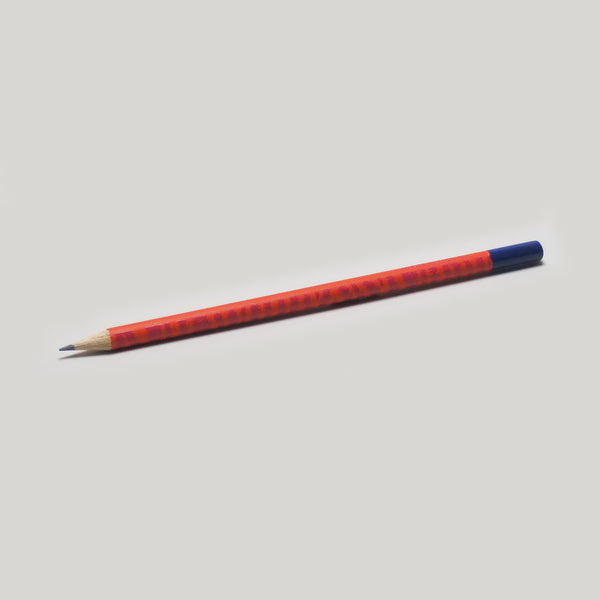 Orange Pattern Pencil - HB - CW Pencil Enterprise
