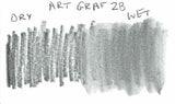 Art Graf 2b water soluble swatch