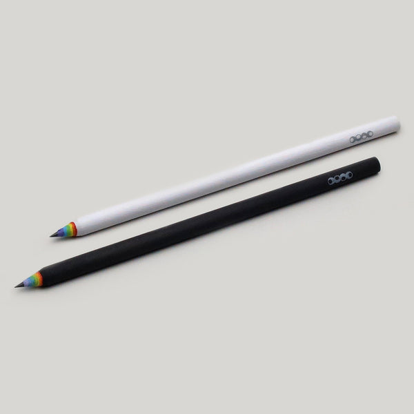 Rainbow Paper Pencil - 3-Pack