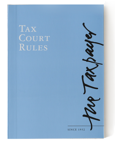 Tax Court Rules