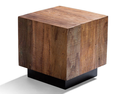 Leblon Cube End Table