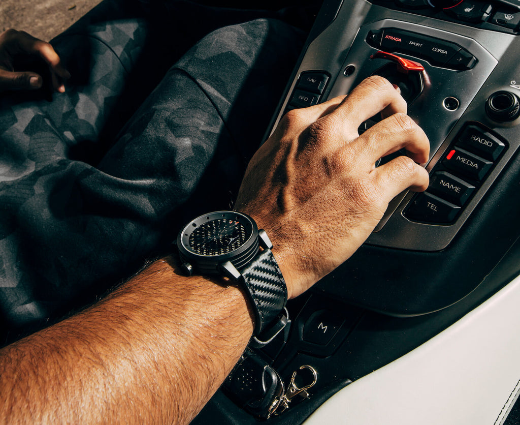 ZINVO's Carbon Fiber Watch Muscle Straps