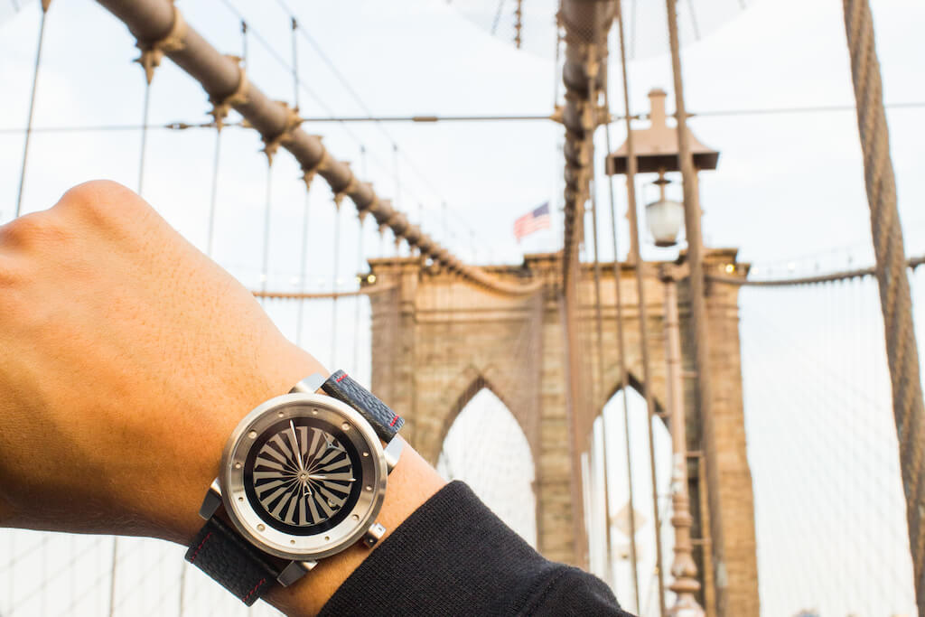 New York City Bridge ZINVO Blade Watch