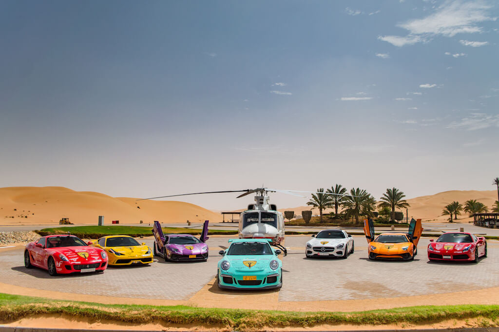 Supercars Club Arabia Delmonya ZINVO Watches