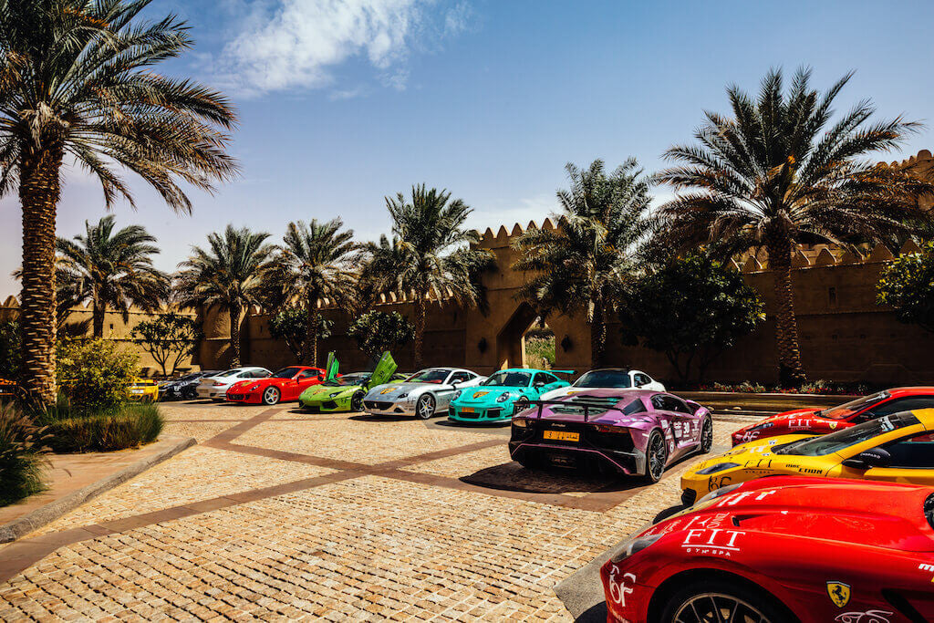 Supercars Club Arabia ZINVO Luxury