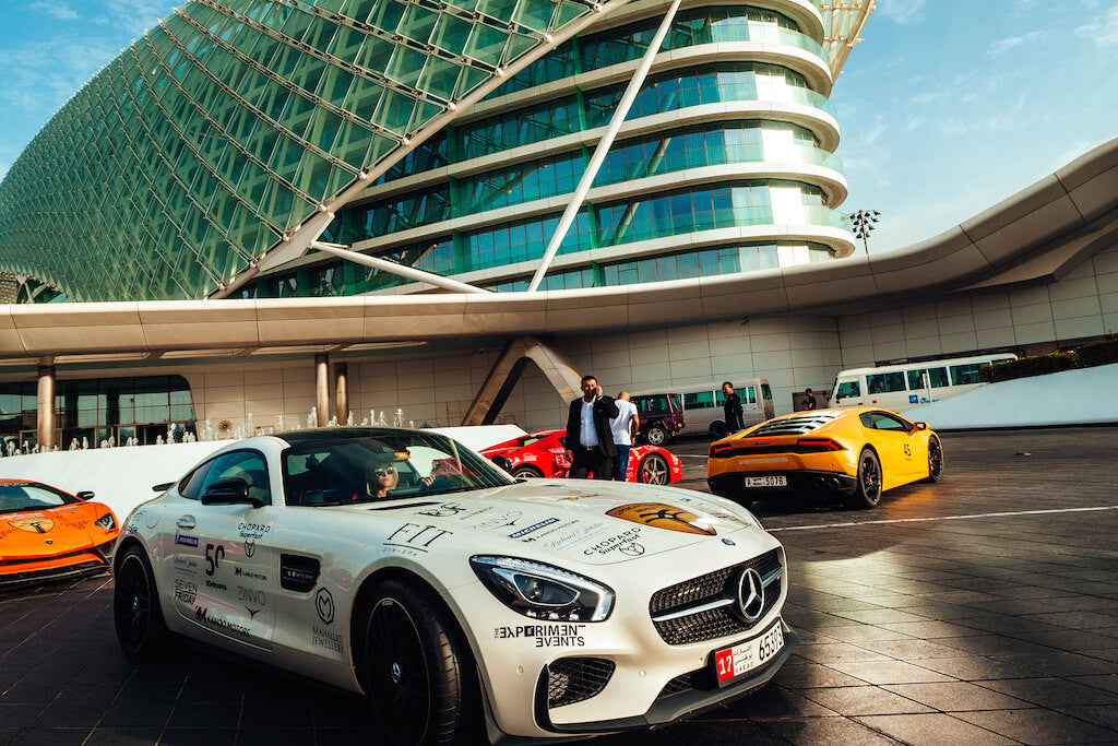 Yas Marina Supercars Club Arabia ZINVO
