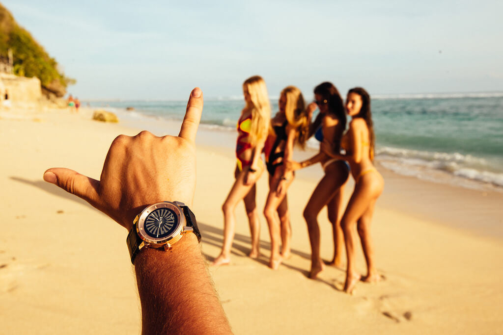 ZINVO Bali Blade Rose Gold Watches