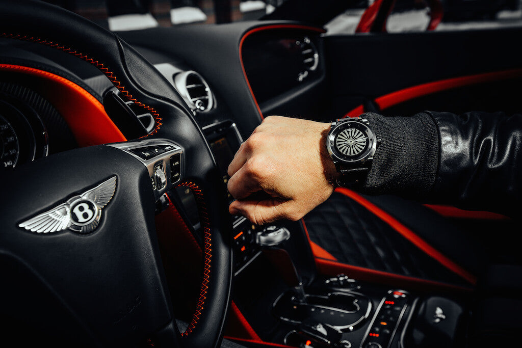 Zinvo Blade Watch Dashboard Bentley Continental GT Power