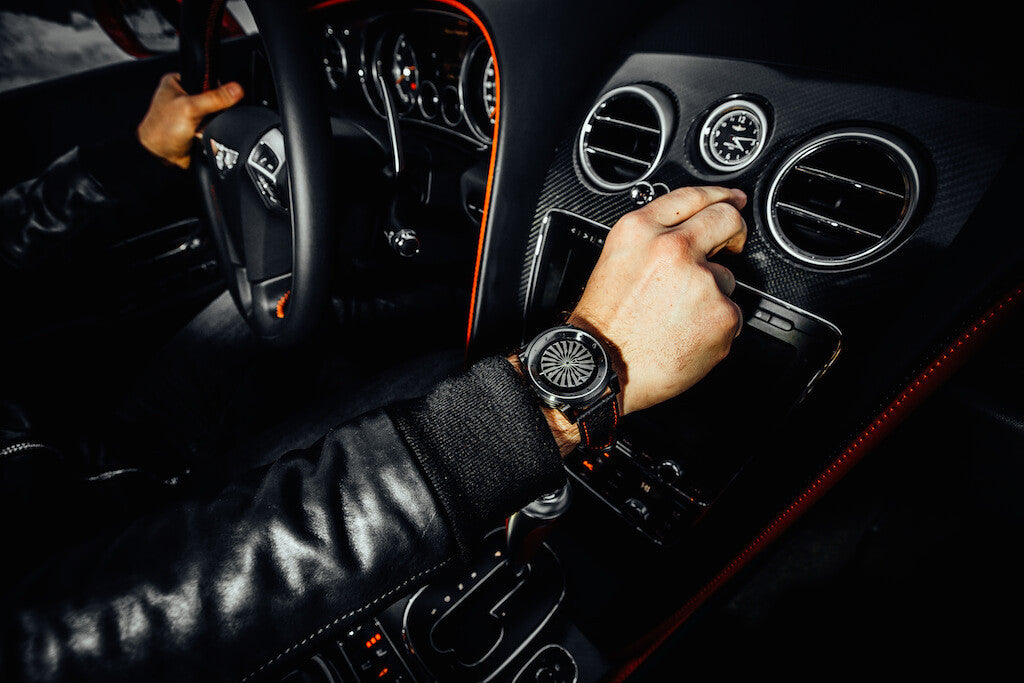 Zinvo Blade Watches Gunmetal Bentley Continental GT Energy