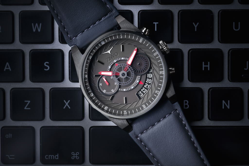 ZINVO CHRONO Gunmetal Steel