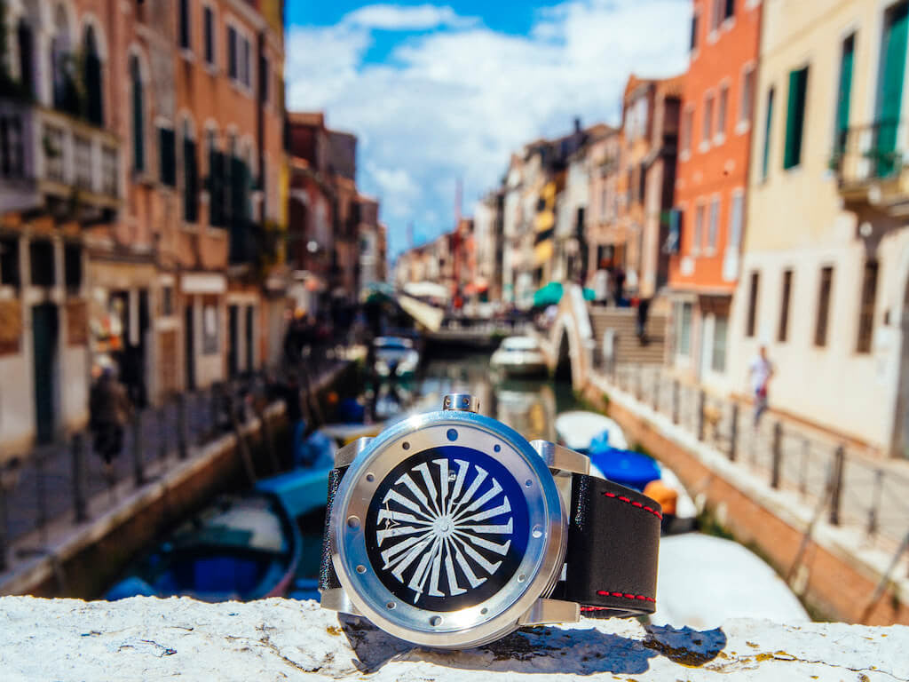 ZINVO Venice Grand Blade Silver Watch