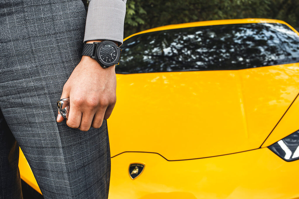 ZINVO Watches Carbon Lamborghini Huracan Model 9 of 21
