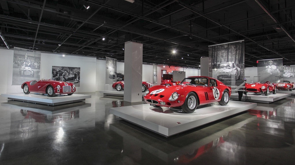 petersen seeing red 70 years ferrari exhibit ZINVO