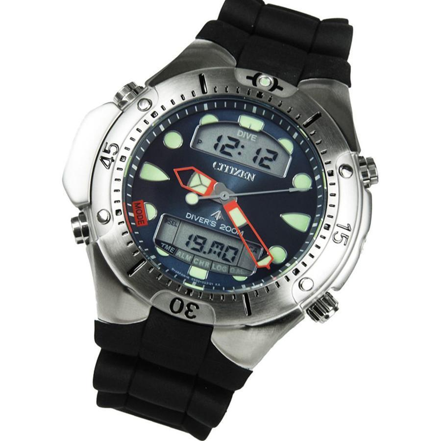 Citizen Promaster Black Silicone Diving Mens Watch