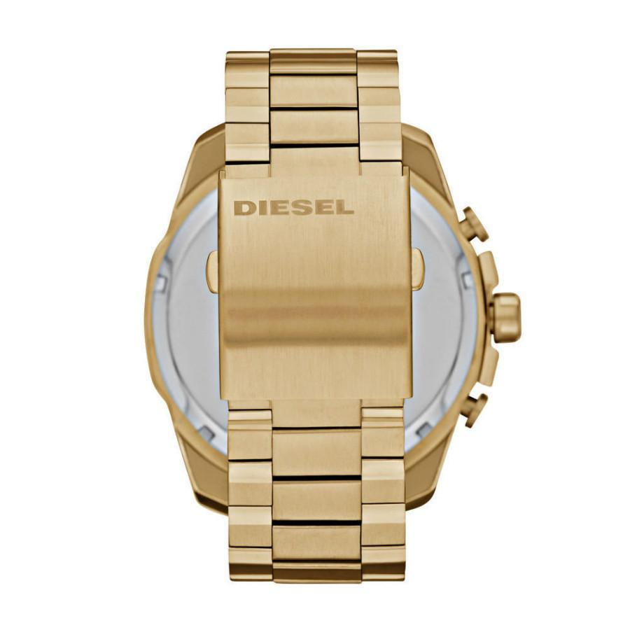Diesel Mens Gold SS Champagne Dial Quartz Watch