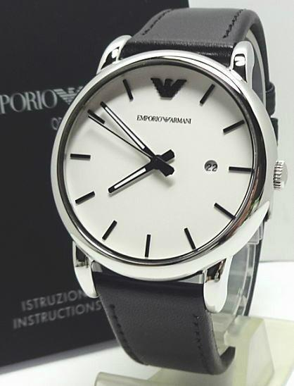 e8fa977833866 Emporio Armani AR1694 Watch NZ - NZWatchStore. Emporio Armani AR1694 Watch  NZ - NZWatchStore · Emporio Armani Classic Mens Watch with White Dial