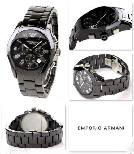 Emporio Armani Mens Ceramica Watch