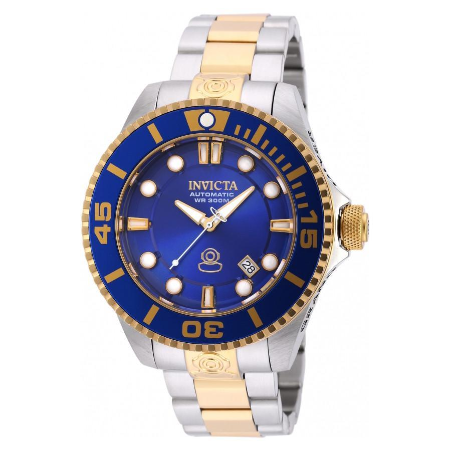 Invicta Pro Diver Gold Stainless Steel Automatic Mens Watch