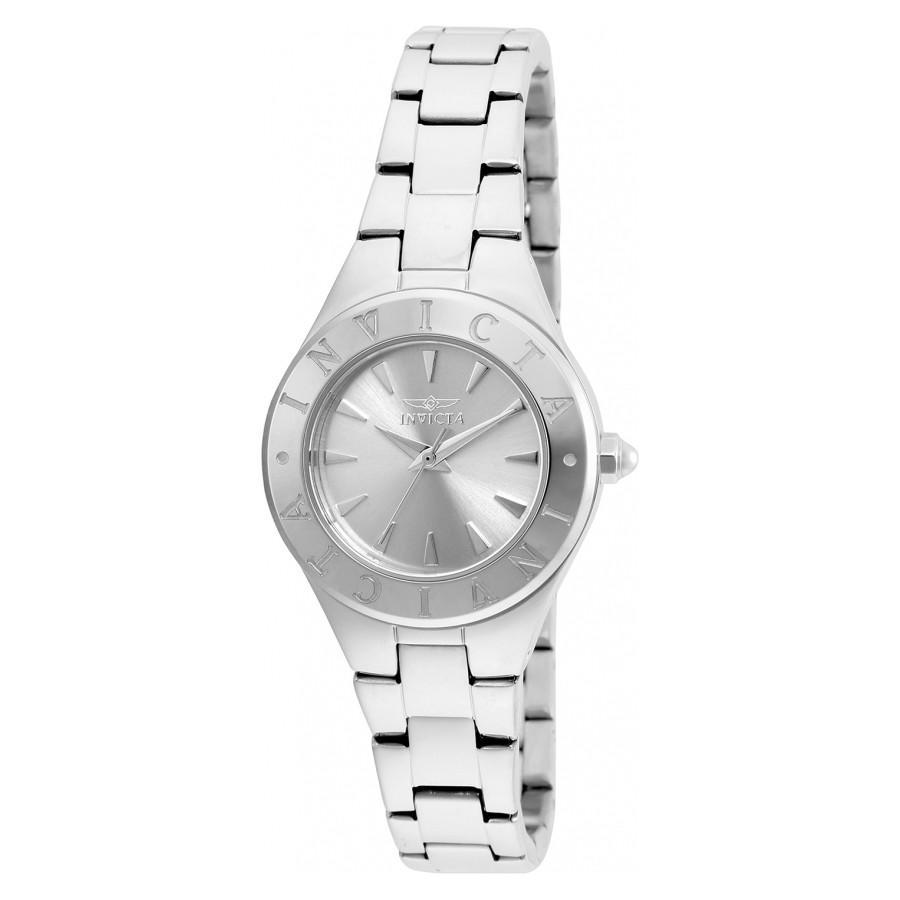 Invicta Wildflower Silver Stainless Steel Womens Watch