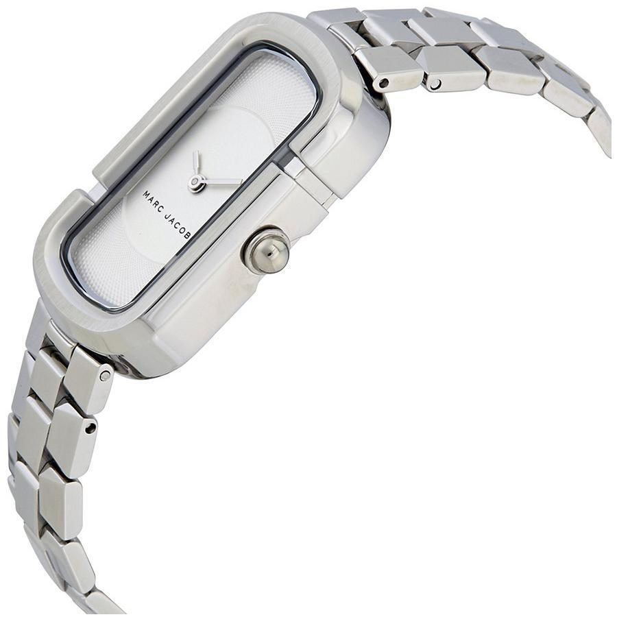 Marc Jacobs The Silver Stainless-Steel Japanese Quartz Fashion Womens Watch