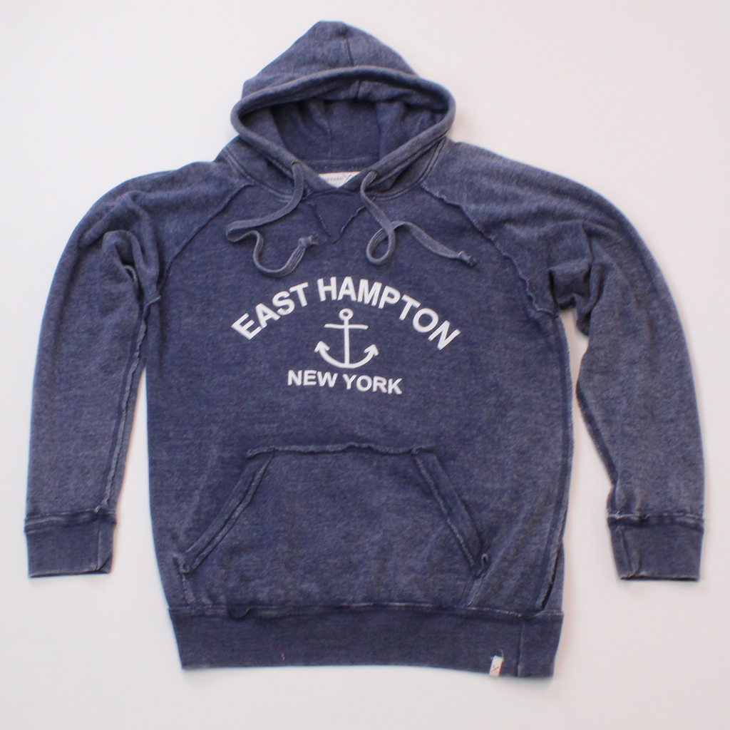 East Hampton, New York Burnout Hoodie