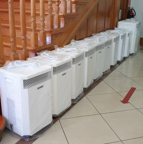 Francis Family Doctors - medical grade hepa filter inovaair airpurifier doctors