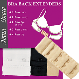 Bra Extenders - 3 piece package