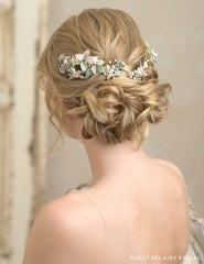 Nature-inspired headband with greenery  6781