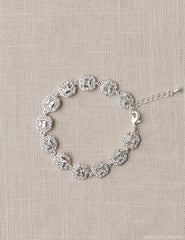 Cushion Cut Links Bracelet