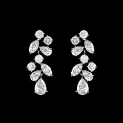 CZ Dangle Earrings EA-05C
